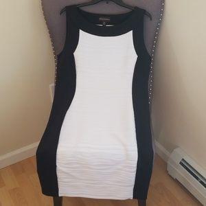 Dana Buchman Black and White Dress